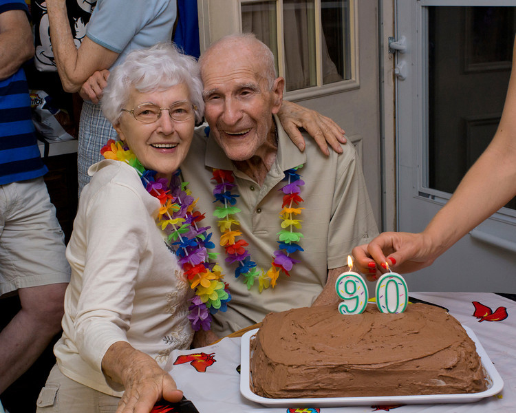 Dad's 90th Bithday Celebration; July 28th 2012